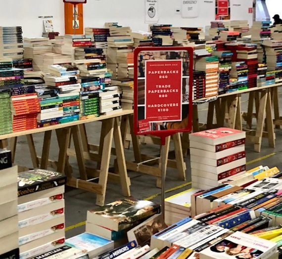 Bargain Books Warehouse Sale